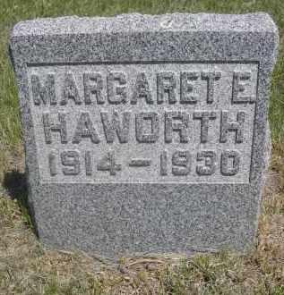 HAWORTH, MARGARET E. - Sioux County, Nebraska   MARGARET E. HAWORTH - Nebraska Gravestone Photos