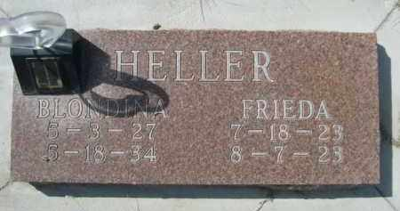 HELLER, BLONDINA - Sioux County, Nebraska | BLONDINA HELLER - Nebraska Gravestone Photos