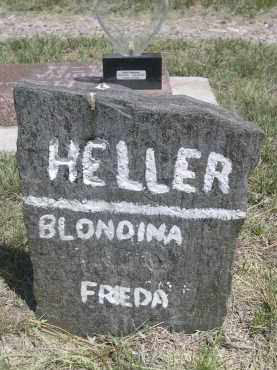 HELLER, FRIEDA - Sioux County, Nebraska | FRIEDA HELLER - Nebraska Gravestone Photos