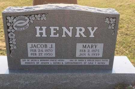 HENRY, MARY A - Sioux County, Nebraska | MARY A HENRY - Nebraska Gravestone Photos
