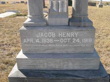 HENRY, JACOB - Sioux County, Nebraska   JACOB HENRY - Nebraska Gravestone Photos