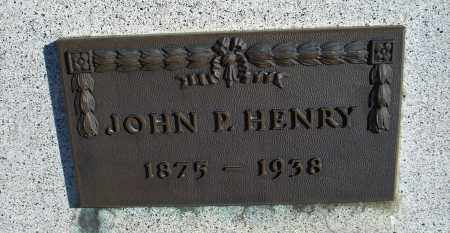 HENRY, JOHN P. - Sioux County, Nebraska   JOHN P. HENRY - Nebraska Gravestone Photos