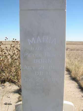 HENRY, MARIA - Sioux County, Nebraska | MARIA HENRY - Nebraska Gravestone Photos