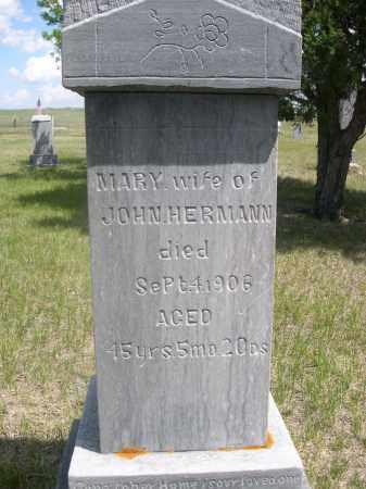 HERMANN, MARY - Sioux County, Nebraska | MARY HERMANN - Nebraska Gravestone Photos