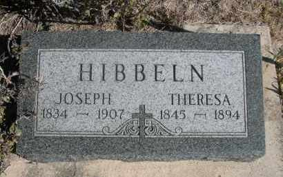HIBBELN, THERESA - Sioux County, Nebraska | THERESA HIBBELN - Nebraska Gravestone Photos