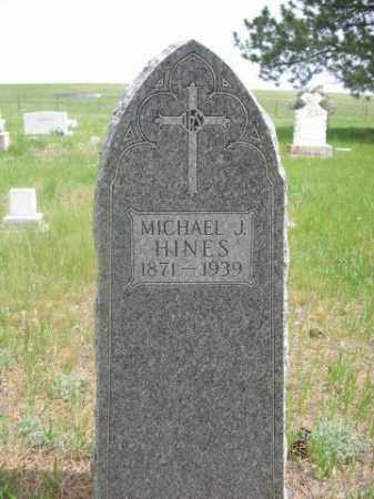 HINES, MICHAEL J. - Sioux County, Nebraska | MICHAEL J. HINES - Nebraska Gravestone Photos