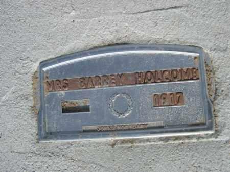 HOLCOMB, MRS. BARNEY - Sioux County, Nebraska   MRS. BARNEY HOLCOMB - Nebraska Gravestone Photos