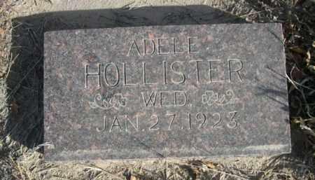 HOLLISTER, ADELL - Sioux County, Nebraska | ADELL HOLLISTER - Nebraska Gravestone Photos
