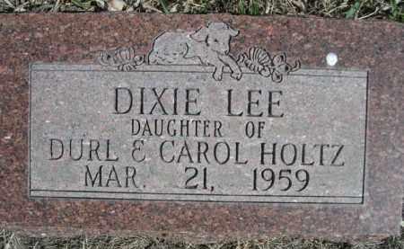 HOLTZ, DIXIE LEE - Sioux County, Nebraska | DIXIE LEE HOLTZ - Nebraska Gravestone Photos