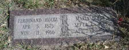 HOLTZ, FERDINAND - Sioux County, Nebraska | FERDINAND HOLTZ - Nebraska Gravestone Photos