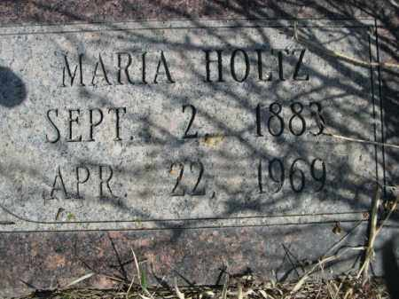 HOLTZ, MARIA - Sioux County, Nebraska | MARIA HOLTZ - Nebraska Gravestone Photos