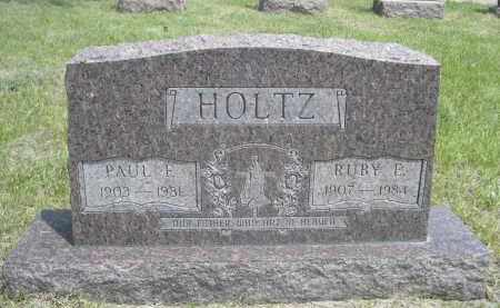 HOLTZ, PAUL F. - Sioux County, Nebraska | PAUL F. HOLTZ - Nebraska Gravestone Photos