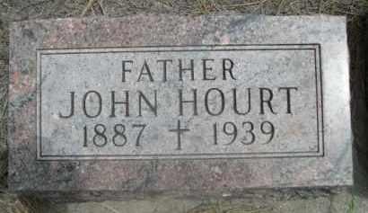 HOURT, JOHN - Sioux County, Nebraska | JOHN HOURT - Nebraska Gravestone Photos