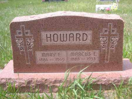 HOWARD, MARY E. - Sioux County, Nebraska | MARY E. HOWARD - Nebraska Gravestone Photos