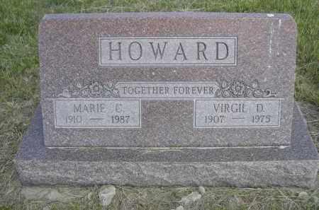 HOWARD, VIRGIL D. - Sioux County, Nebraska | VIRGIL D. HOWARD - Nebraska Gravestone Photos