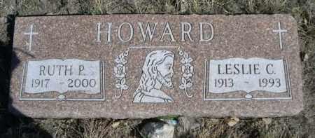 HOWARD, RUTH P. - Sioux County, Nebraska | RUTH P. HOWARD - Nebraska Gravestone Photos