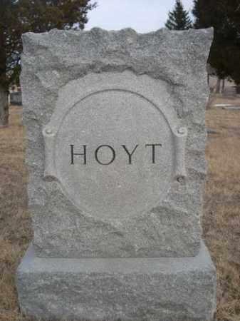 HOYT, FAMILY - Sioux County, Nebraska | FAMILY HOYT - Nebraska Gravestone Photos