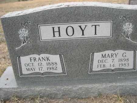 HOYT, FRANK - Sioux County, Nebraska | FRANK HOYT - Nebraska Gravestone Photos