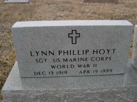 HOYT, LYNN PHILLIP - Sioux County, Nebraska | LYNN PHILLIP HOYT - Nebraska Gravestone Photos