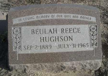 HUGHSON, BEULAH - Sioux County, Nebraska | BEULAH HUGHSON - Nebraska Gravestone Photos