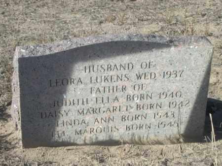 HUGHSON, C. MARQUIS - Sioux County, Nebraska   C. MARQUIS HUGHSON - Nebraska Gravestone Photos