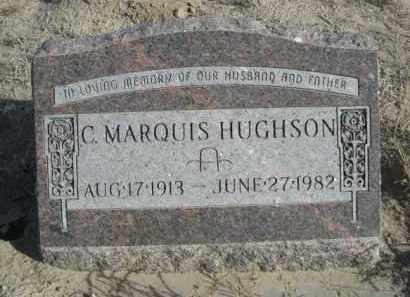 HUGHSON, C. MARQUIS - Sioux County, Nebraska | C. MARQUIS HUGHSON - Nebraska Gravestone Photos
