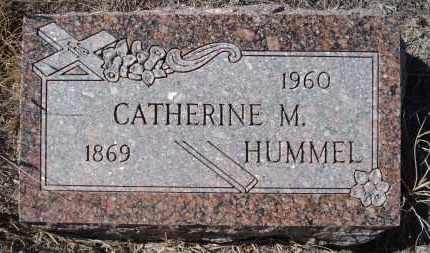 HUMMEL, CATHERINE M. - Sioux County, Nebraska | CATHERINE M. HUMMEL - Nebraska Gravestone Photos