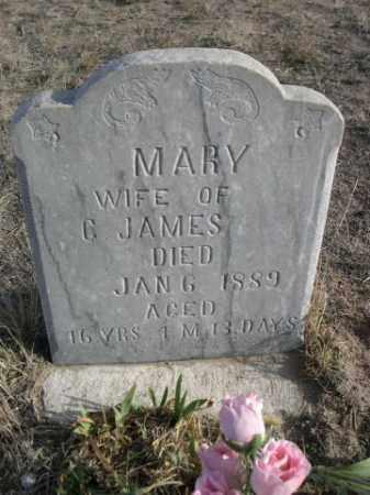 JAMES, MARY - Sioux County, Nebraska | MARY JAMES - Nebraska Gravestone Photos