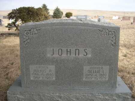 JOHNS, JULIUS A. - Sioux County, Nebraska | JULIUS A. JOHNS - Nebraska Gravestone Photos