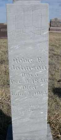 JOHNSON, ABBIE F. - Sioux County, Nebraska | ABBIE F. JOHNSON - Nebraska Gravestone Photos