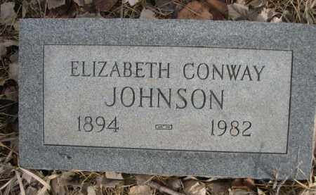 JOHNSON, ELIZABETH - Sioux County, Nebraska | ELIZABETH JOHNSON - Nebraska Gravestone Photos