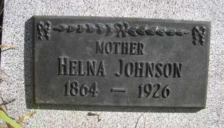 JOHNSON, HELNA - Sioux County, Nebraska | HELNA JOHNSON - Nebraska Gravestone Photos