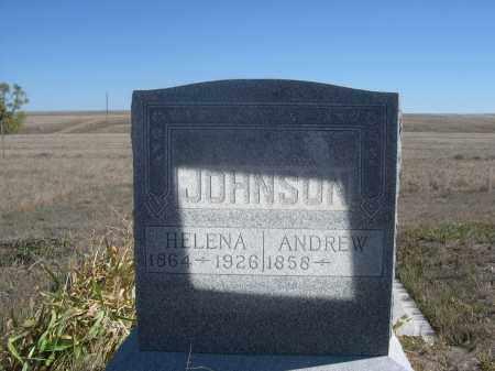 JOHNSON, ANDREW - Sioux County, Nebraska   ANDREW JOHNSON - Nebraska Gravestone Photos
