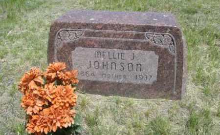 JOHNSON, NELLIE J. - Sioux County, Nebraska   NELLIE J. JOHNSON - Nebraska Gravestone Photos