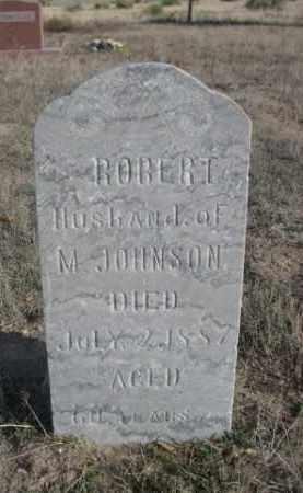 JOHNSON, ROBERT - Sioux County, Nebraska | ROBERT JOHNSON - Nebraska Gravestone Photos