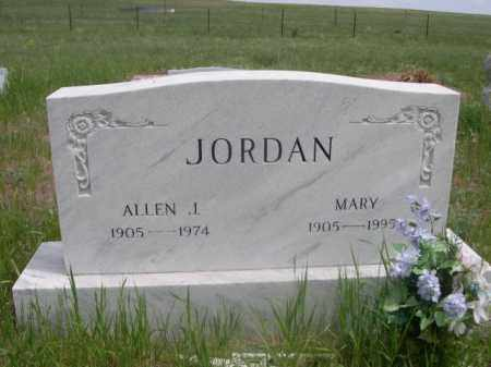 JORDAN, MARY - Sioux County, Nebraska | MARY JORDAN - Nebraska Gravestone Photos
