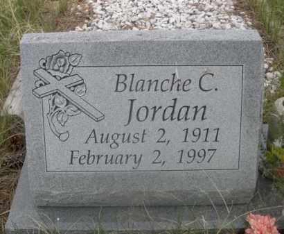 JORDAN, BLANCHE C. - Sioux County, Nebraska | BLANCHE C. JORDAN - Nebraska Gravestone Photos