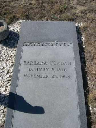 JORDAN, BARBARA - Sioux County, Nebraska | BARBARA JORDAN - Nebraska Gravestone Photos