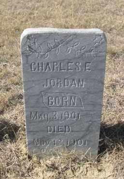 JORDAN, CHARLES E. - Sioux County, Nebraska | CHARLES E. JORDAN - Nebraska Gravestone Photos