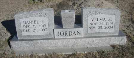 JORDAN, DANIEL E. - Sioux County, Nebraska | DANIEL E. JORDAN - Nebraska Gravestone Photos