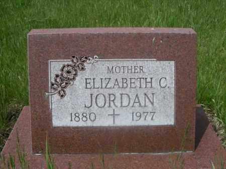 JORDAN, ELIZABETH C. - Sioux County, Nebraska | ELIZABETH C. JORDAN - Nebraska Gravestone Photos