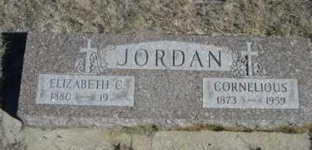 JORDAN, ELIZABETH C. - Sioux County, Nebraska   ELIZABETH C. JORDAN - Nebraska Gravestone Photos