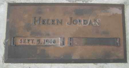 JORDAN, HELEN - Sioux County, Nebraska | HELEN JORDAN - Nebraska Gravestone Photos