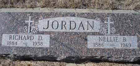 JORDAN, RICHARD D. - Sioux County, Nebraska | RICHARD D. JORDAN - Nebraska Gravestone Photos