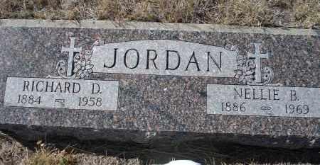 JORDAN, RICHARD D. - Sioux County, Nebraska   RICHARD D. JORDAN - Nebraska Gravestone Photos