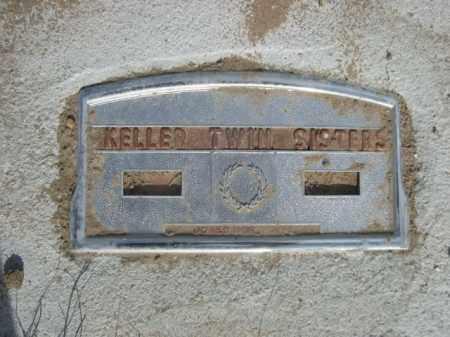 KELLER, TWIN SISTERS - Sioux County, Nebraska | TWIN SISTERS KELLER - Nebraska Gravestone Photos