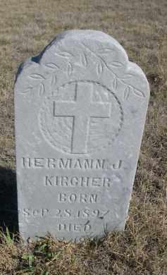 KIRCHER, HERMANN J. - Sioux County, Nebraska | HERMANN J. KIRCHER - Nebraska Gravestone Photos
