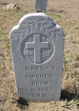 KIRCHER, NANCY S. - Sioux County, Nebraska   NANCY S. KIRCHER - Nebraska Gravestone Photos
