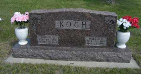 KOCH, MARTIN H. - Sioux County, Nebraska | MARTIN H. KOCH - Nebraska Gravestone Photos