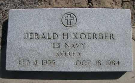 KOERBER, JERALD H. - Sioux County, Nebraska | JERALD H. KOERBER - Nebraska Gravestone Photos